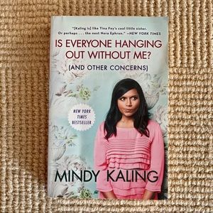 "Mindy Kaling ""Is everyone hanging out without me?"""